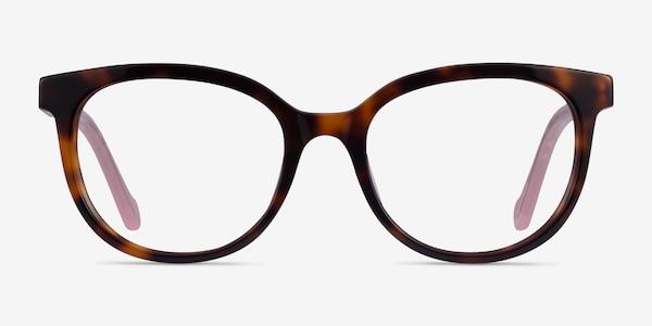 Popcorn Tortoise Pink Acetate Eyeglass Frames