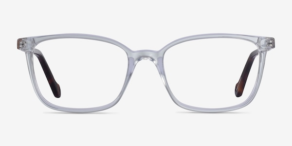Travel Clear Tortoise Acetate Eyeglass Frames
