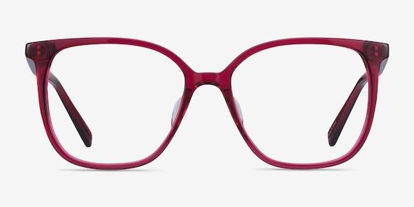 Latte Raspberry Acétate Montures de Lunette de vue