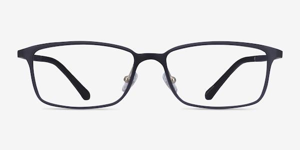 Modest Matte Gray Plastique Montures de lunettes de vue