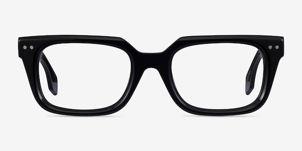 Kit Black Acetate Eyeglass Frames