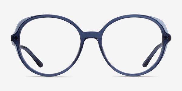 Pure Clear Blue Acetate Eyeglass Frames