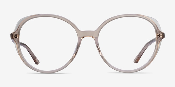 Pure Champagne Acetate Eyeglass Frames