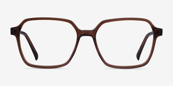 Bucolic Clear Brown Acetate Eyeglass Frames