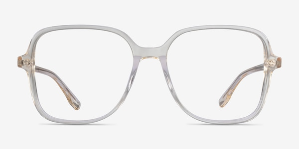 Bloom Clear Yellow Acetate Eyeglass Frames