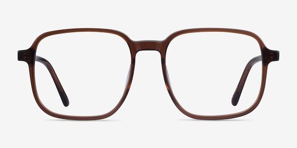Ozone Clear Brown Acétate Montures de lunettes de vue