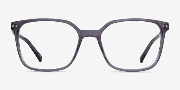 Conscious Clear Gray Acetate Eyeglass Frames