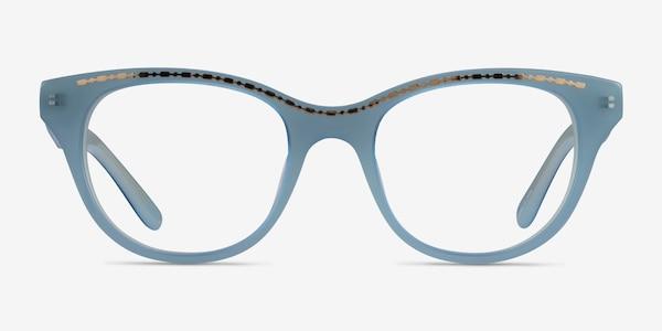 Arcady Blue Gold Acetate Eyeglass Frames
