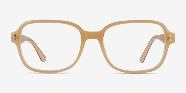 Patina Yellow Acetate Eyeglass Frames