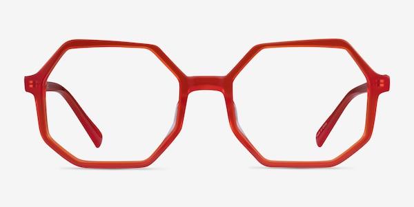 Glister Iridescent Red Acetate Eyeglass Frames