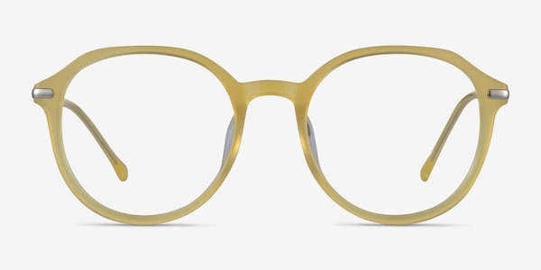 Original Iridescent Yellow Acetate Eyeglass Frames