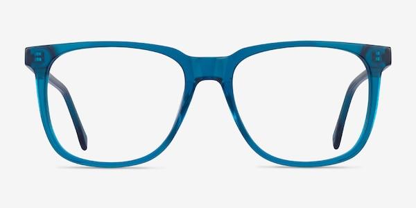 Latitude Clear Blue Acetate Eyeglass Frames