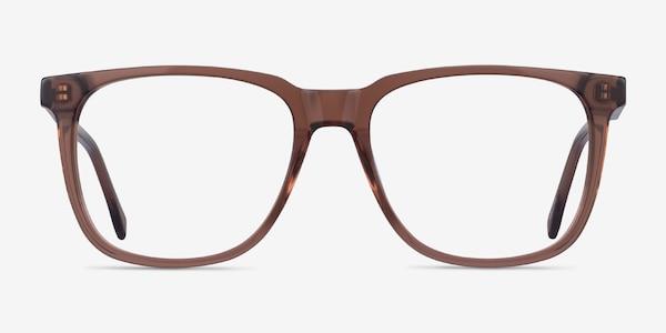 Latitude Clear Brown Acetate Eyeglass Frames