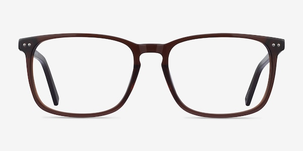 California Clear Brown Acetate Eyeglass Frames