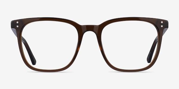 Boreal Clear Brown Acetate Eyeglass Frames