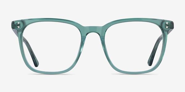 Boreal Clear Green Acetate Eyeglass Frames