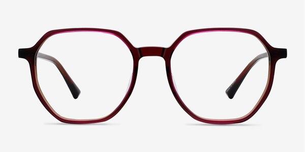 Tiki Brown   Pink Acetate Eyeglass Frames