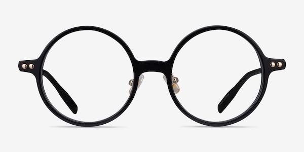 Greenwich Black Acetate Eyeglass Frames