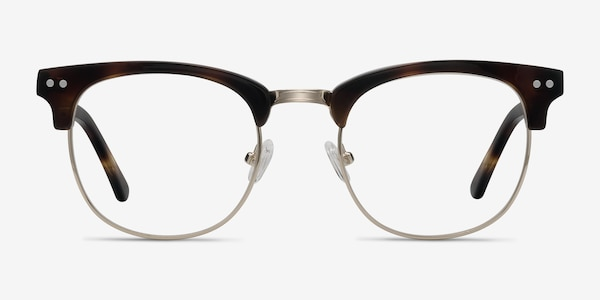 Borderline Tortoise Acetate-metal Eyeglass Frames