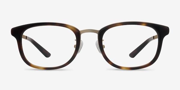 First Light Tortoise Acetate-metal Eyeglass Frames
