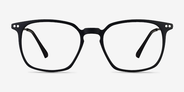 Ghostwriter Matte Black Plastic-metal Eyeglass Frames