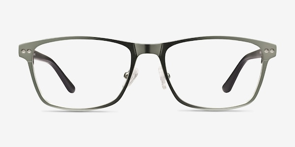 Comity Light Green Acetate-metal Eyeglass Frames