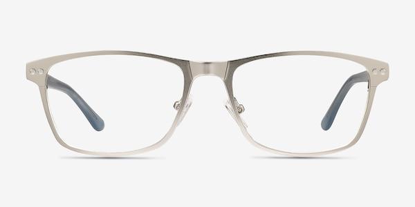 Comity Silver Acetate-metal Eyeglass Frames