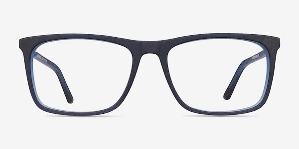 Instance Blue Acetate-metal Eyeglass Frames