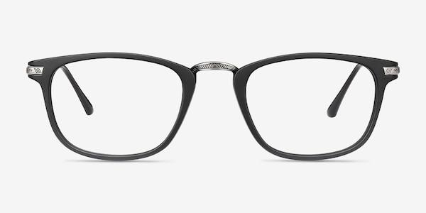 Catcher Black Plastic-metal Eyeglass Frames