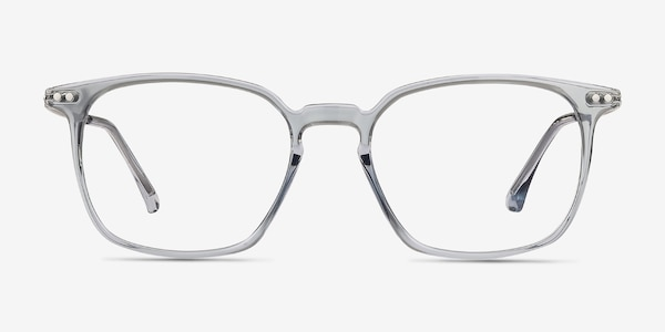 Ghostwriter Clear Blue Plastic-metal Eyeglass Frames