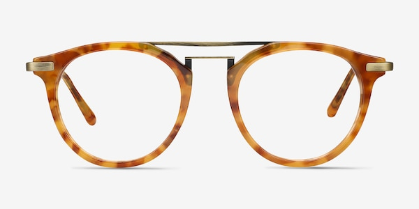Alba Light Tortoise Acetate-metal Eyeglass Frames