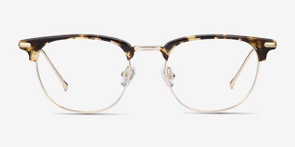 Relive Tortoise Golden Acetate-metal Eyeglass Frames