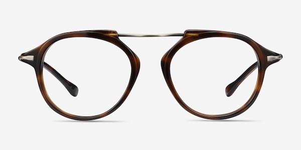 Terminal One Tortoise Bronze Acetate-metal Eyeglass Frames