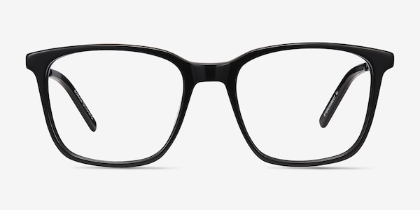 Morrow Black Acetate-metal Eyeglass Frames