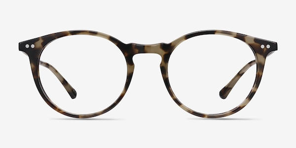 Luminous Tortoise Acetate-metal Eyeglass Frames