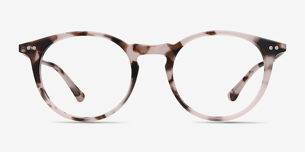 Luminous Pink Tortoise Acetate-metal Eyeglass Frames