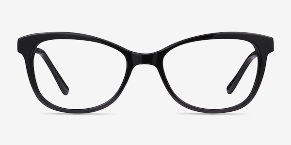 Ripple Black Acetate-metal Eyeglass Frames