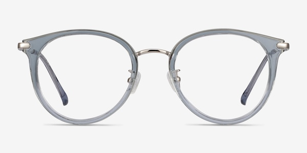 Hollie Blue Plastic-metal Eyeglass Frames