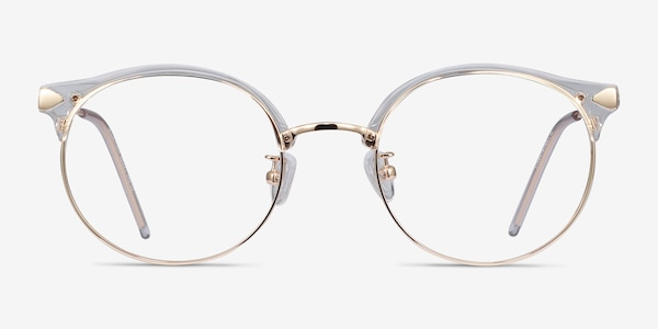 Moon River Clear Plastic-metal Eyeglass Frames