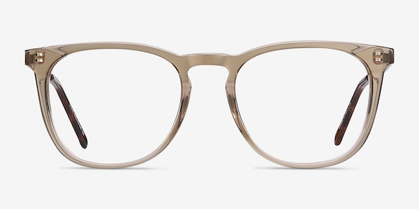 Vinyl Clear Brown Acetate-metal Montures de Lunette de vue