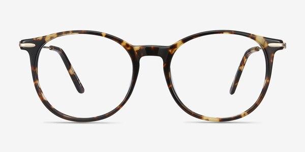 Quill Tortoise Acetate-metal Eyeglass Frames