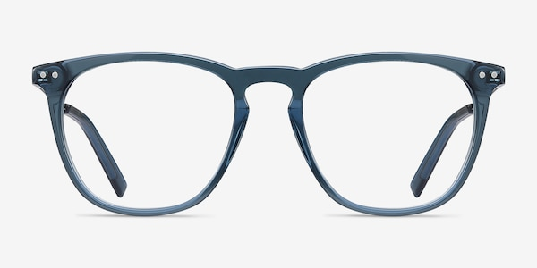 Distance Green Acetate-metal Eyeglass Frames