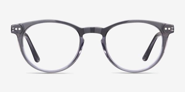 Traveller Gray Acetate-metal Eyeglass Frames