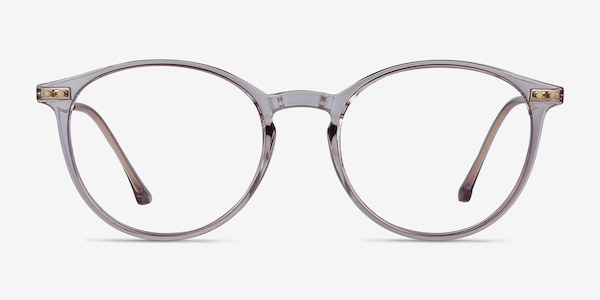 Amity Purple Plastic-metal Eyeglass Frames