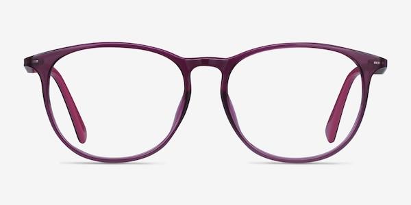 Today Purple Plastic-metal Eyeglass Frames