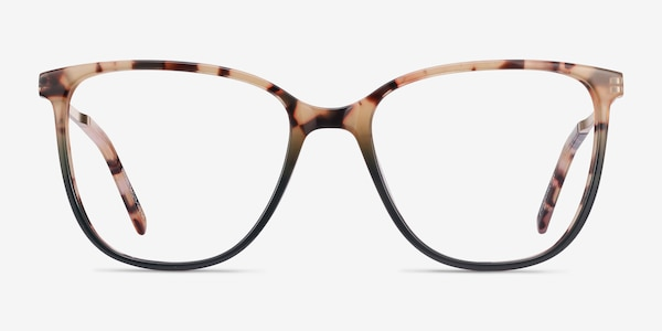 Aroma Tortoise Green Acetate-metal Eyeglass Frames