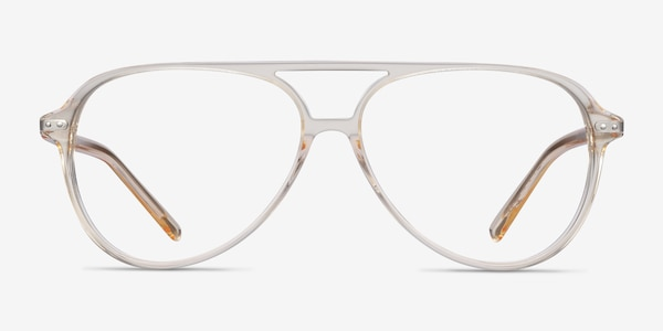 Viento Clear Yellow Acetate Eyeglass Frames