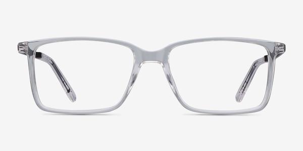 Haptic Clear Acetate-metal Eyeglass Frames
