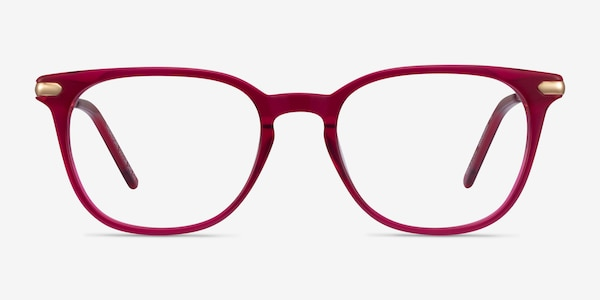 Therefore Raspberry Acetate-metal Eyeglass Frames