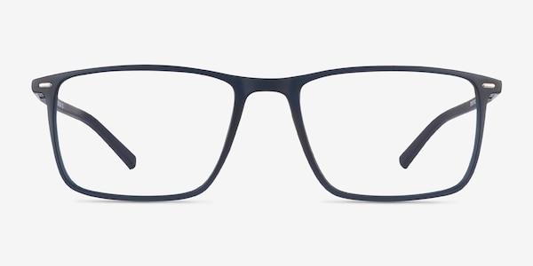 Simon Navy Plastic-metal Eyeglass Frames